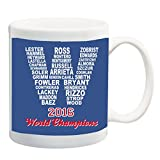 2016 Champions Cubs 11 ounce Ceramic Coffee Mug Tea Cup by Debbie's Designs