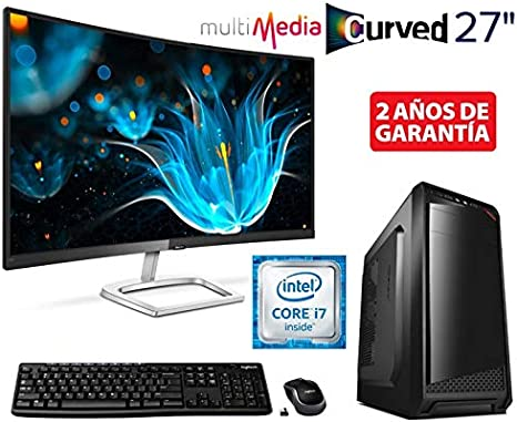 Ordenador SOBREMESA Intel Core i7 Quad Core up to 3,06Ghz + ...