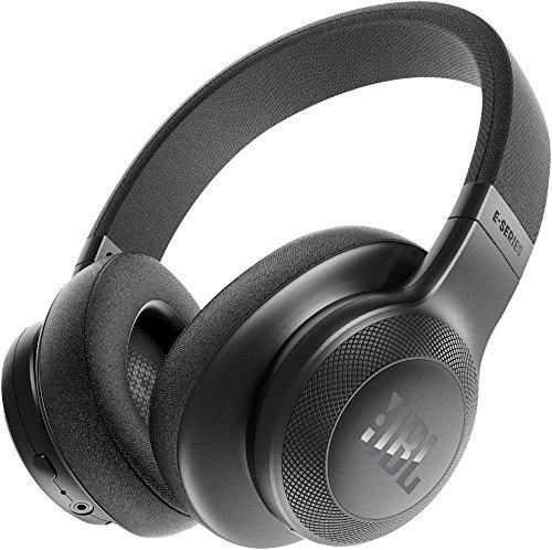 JBL E55BT Over-Ear Wireless Headphones Black (Renewed)