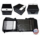 ZaZaTool 520 Discs Portable CD DVD Wallet Holder Bag Case Album Organizer Storage