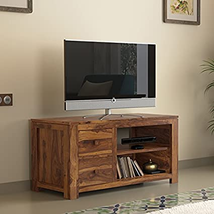 Urban Ladder Striado TV Unit (Teak)