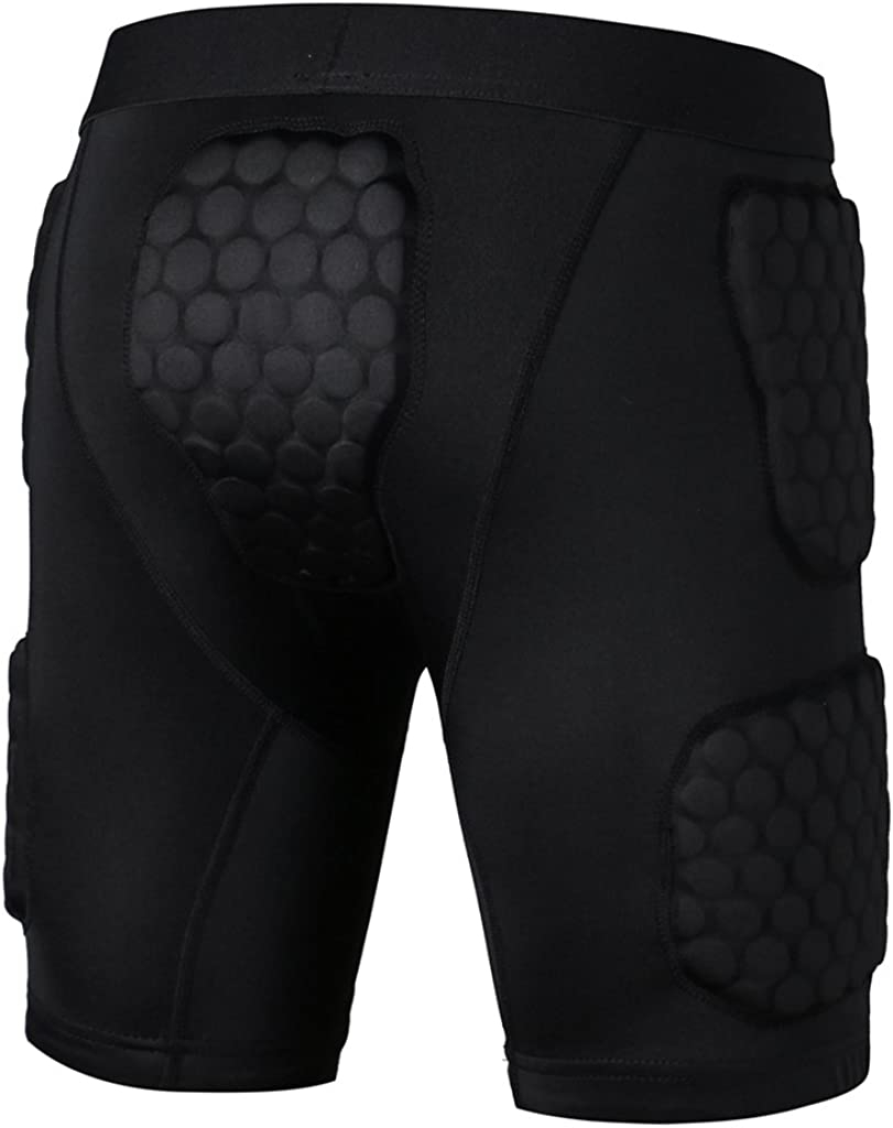 Generic Anti-Crash Baseball Basket Bici Calcio Sport Sfondamento Slider Imbottito Compression Pantaloncini Shorts