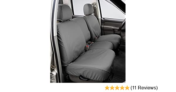 Gravel Covercraft Carhartt SeatSaver Front Row Custom Fit Seat Cover for Select Hyundai Tucson Models Duck Weave