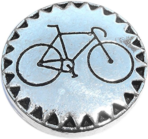 Bicycle Snap Charm (Standard 18mm Size)