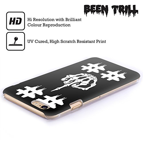 Official Been Trill Double Hashtag Skulls Hard Back Case for Apple iPhone 6 Plus / 6s Plus