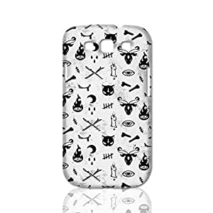 Cute Occult Photo Hard 3D Rough Case , Fashion Image Case Diy, Personalized Custom Durable 3d Case Regular Case For Samsung Galaxy S3 i9300