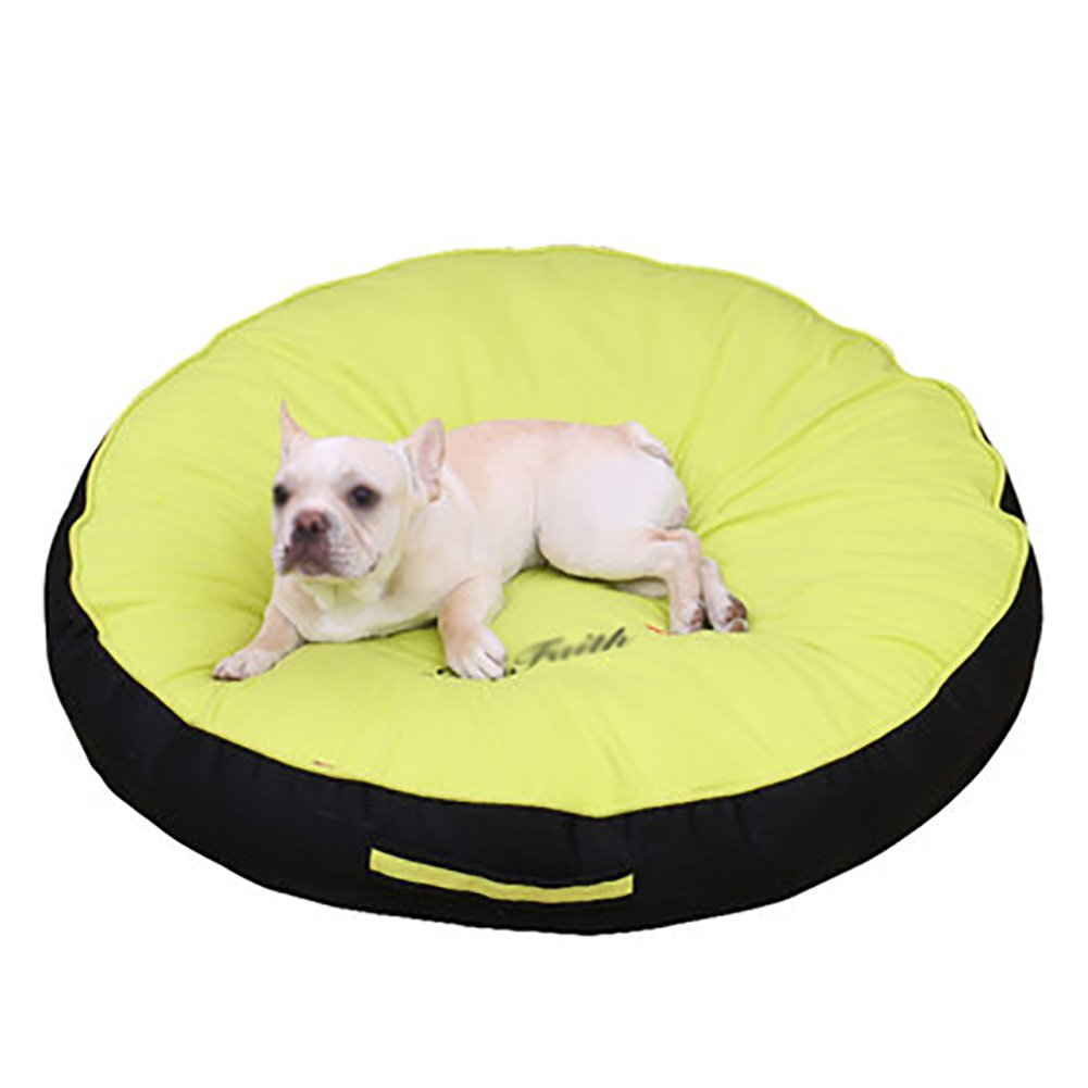 Green 606010cm Green 606010cm Summer Sleeping Mat Kennel Mat Pet Supplies Carpet Dog Cage Cushion Washable Removable Pad (color   Green, Size   606010cm)