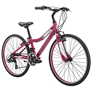 Diamondback Bicycles Clarity 24 Girl's Youth Fitness Hybrid Bike