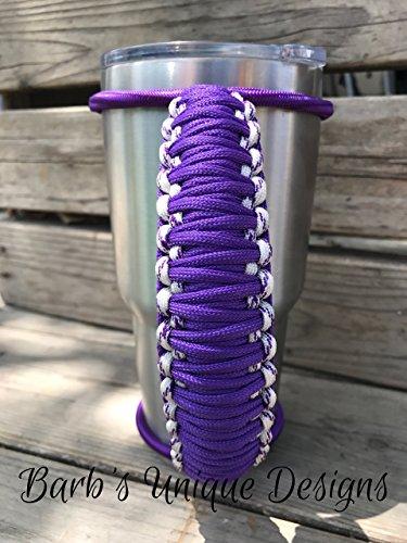 purple bungee handle