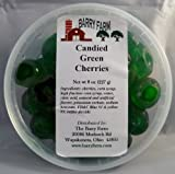 Candied Green Cherries, Whole, 8 oz
