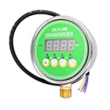 Flameer 24V 2 Channel Digital Pressure Gauge Pressure Controller for Vacuum Pump