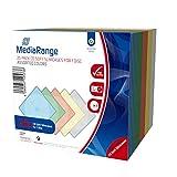 MediaRange CD/DVD Storage Media Case 20pcs, Plastic, Multi, BOX37 (20pcs, Plastic, Multi)