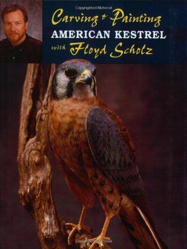 Carving & Painting an American Kestrel with Floyd (Floyd Bird)