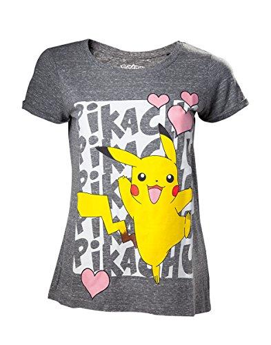Pokemon - Pikachu Love Women's T-Shirt S [Edizione: Germania]