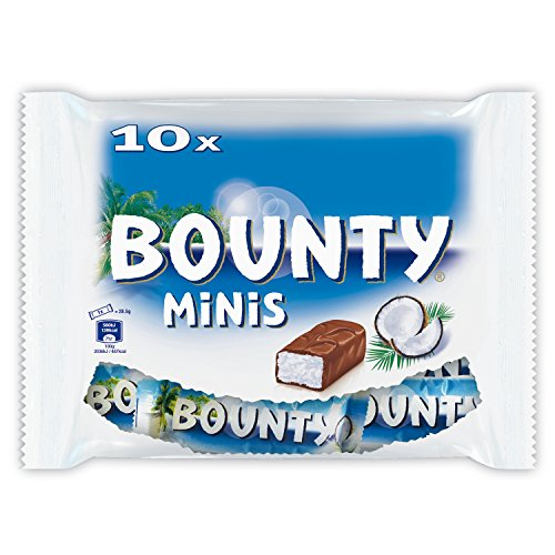 Bounty Minis Original Bounty Fun Size Bounty Bag Coconut Candy Imported From The UK England British Chocolate Bounty Milk Chocolate Bar
