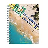 2019 Tropical Beaches Medium Weekly Monthly Planner