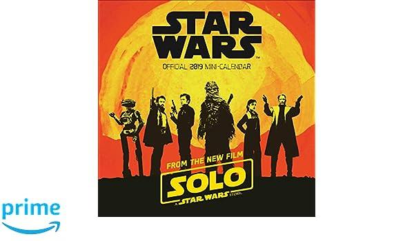 Star Wars Han Solo Mini Official 2019 Calendar - Mini Wall ...