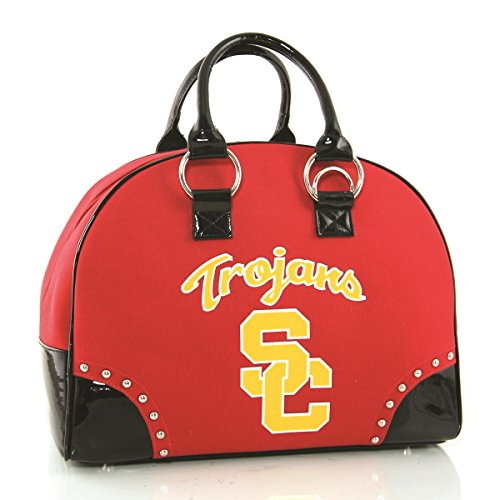 University of Southern California Sport Team Large Travel Overnighter Bag Overnighter Bag Handbags