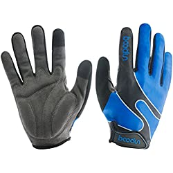 Timeiya Cycling Gloves With Shock-Absorbing Durable And Breathable Glove For Fitness,Biking