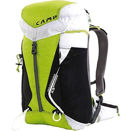 Camp X3 Backdoor - Green / White - 30l - Innovativer geräumiger Alpin-Rucksack, 30l green