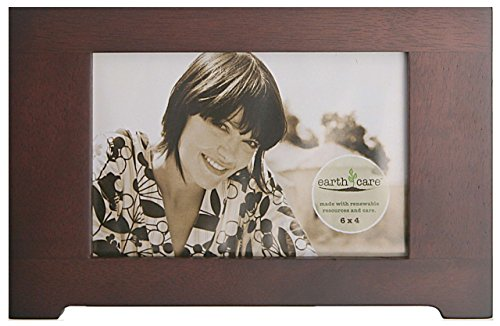 Vista Wall Frame - earth care 732-Vista-Expresso-6x4 Tabletop and Wall Frames Photo Horizontal and Vertical with Easel and Hanger, 6 by 4