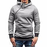fbR8wawOKPHoYL9 Men's Zipper Hoodie, Slim Fit Sweatshirt Pullover Tops