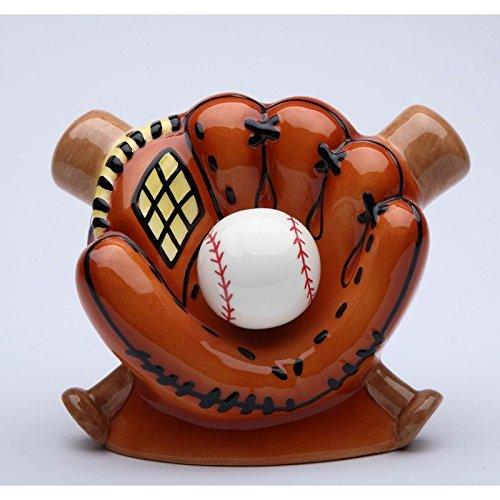 StealStreet SS-CG-10468, 5.88 Inch Ceramic Baseball in Glove...