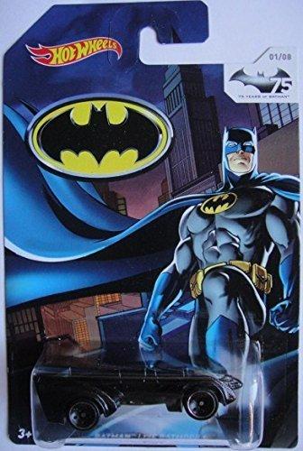 Hot Wheels 75 Years of Batman Exclusive Live Batmobile DIE-CAST 1/8