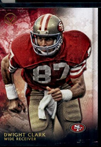 2015 Topps Valor #166 Dwight Clark Football Card (Dwight Football Clark)