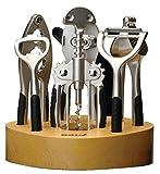 BergHOFF CookNCo 7-Piece Bar Set, Silver
