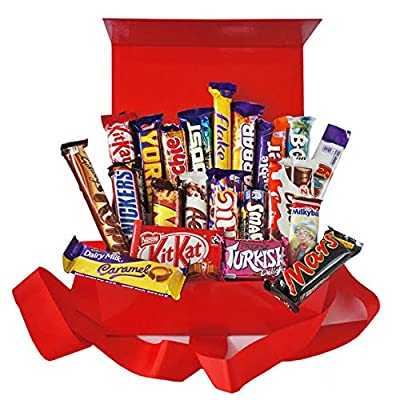 21 x MULTIPACK Chocolate Lovers Assorted Gift Box Bars Cadbury Nestle Kids