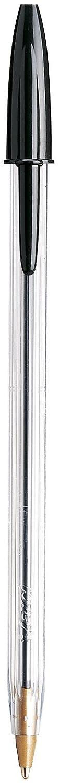 Bic Cristal Stic mediano, - Bolígrafo mediano, Stic color negro, 10 ea (2 unidades) 64db17