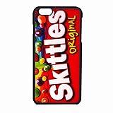 Skittles Original Case / Color Black Rubber / Device iPhone 6/6s