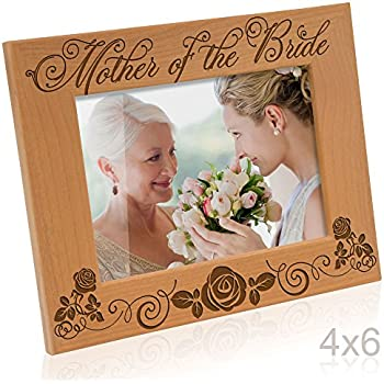 kate posh mother of the bride picture frame 4x6 horizontal - Mother Of The Bride Picture Frame