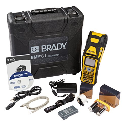 Label Makers Brady BMP61 Portable Handheld Printer for Indus