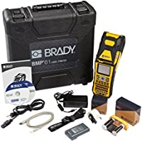 Brady BMP61 Portable Handheld Printer for Industrial Label Printing, Label Printer USB Capable