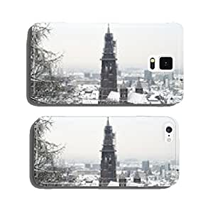 Overlooking Freiburg im Winter cell phone cover case iPhone6 Plus