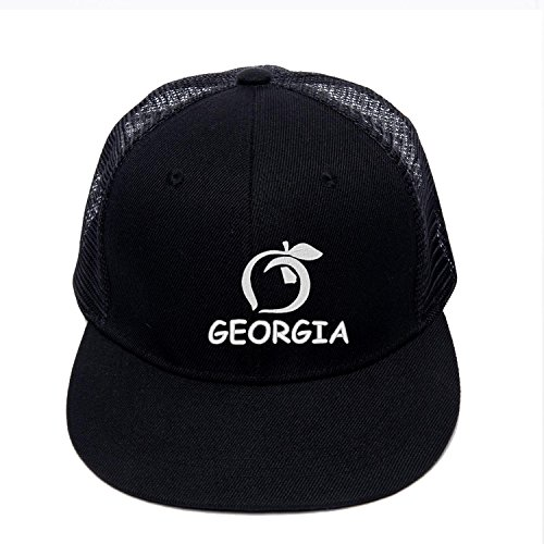 Hip Hop Snapbacks With Georgia Peach Logo State Embroidered Baseball Cap Street Hat