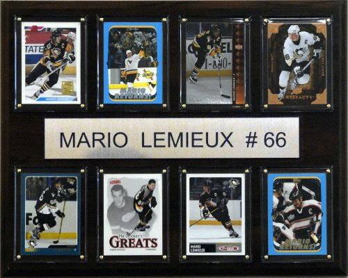 NHL Mario Lemieux Pittsburgh Penguins 8 Card (Mario Lemieux Nhl)