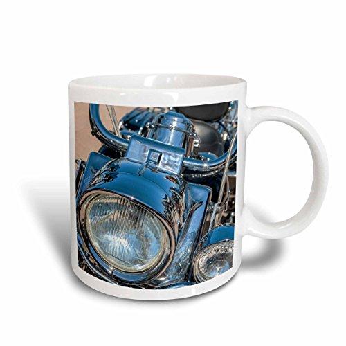 3dRose USA, Florida, Daytona Beach, Harley Davidson Bike, Bike Week. Ceramic Mug, 15 oz, - Outlets Beach Daytona Florida