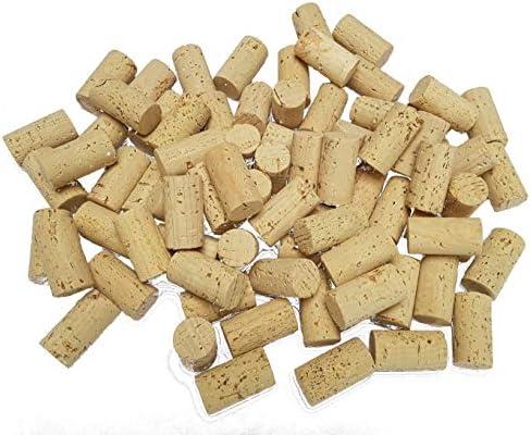 100 stuks nieuwe kurken 45 x 24 mmknutselkurken lichtwijnkurk om te knutselen DIYknutselideen ecologisch veganistisch 45 x 24 mm