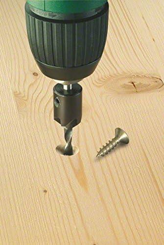 Bosch 2 609 255 218 Broca en espiral para madera con avellanador