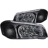 03 maxima headlight assembly - Anzo USA 121110 Nissan Maxima Crystal Black Headlight Assembly - (Sold in Pairs)