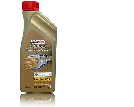Castrol Edge Professional 5W30 LLIII, Aceite para motor, Paquete de 1 litro