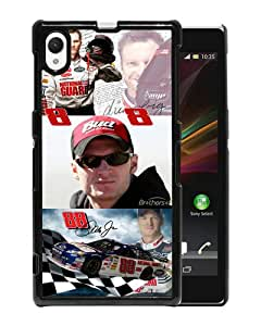 Beautiful And Unique Designed Case For Sony Xperia Z1 With Dale Earnhardt Jr black Phone Case