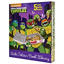 Teenage Mutant Ninja Turtles Little Golden Book Library (Teenage Mutant Ninja Turtles)