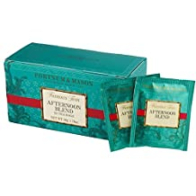 Fortnum & Mason British Tea, Afternoon Blend, 25 Count Teabags (1 Pack) - Seller Model Id Afsfl098b - USA Stock