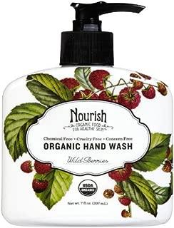 product image for Nourish Organic | Organic Hand Wash - Wild Berries | GMO-Free, Cruelty Free, Organic (7oz)