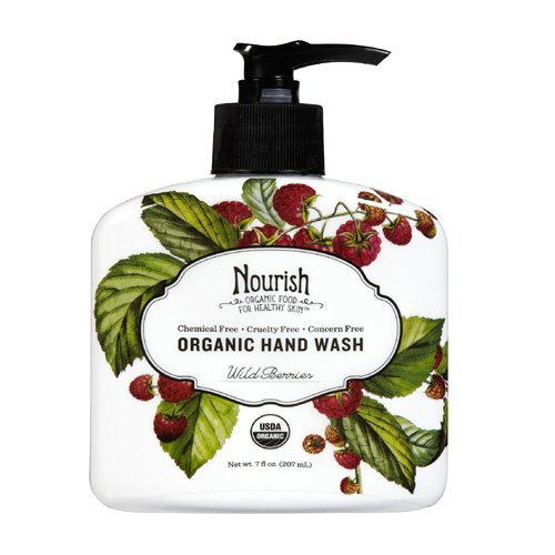 Nourish Organic Hand Wash, Wild Berries, 7 Fluid (7 Hand Wash)