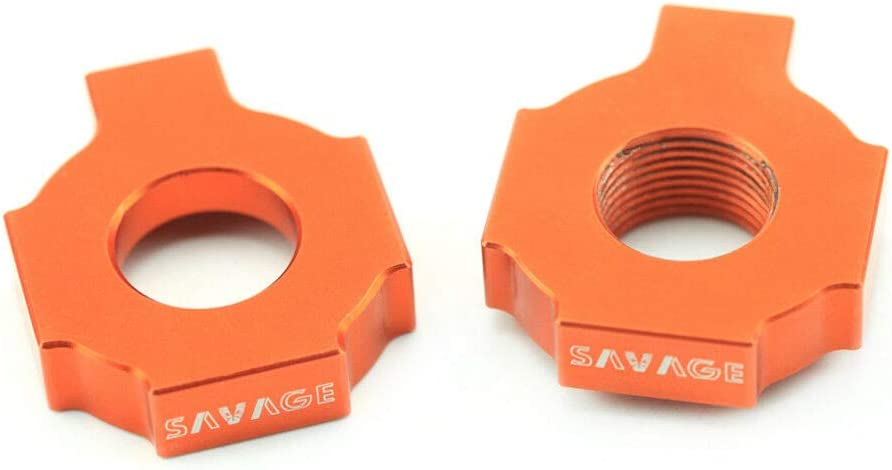 Axle Block Chain Adjuster For KTM EXC SX MXC 125 200 250 300 380 400 450 520 525
